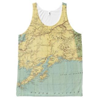 El mapa de McNally del rand de Alaska