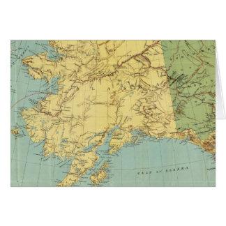 El mapa de McNally del rand de Alaska Tarjeta