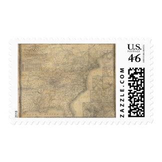 El mapa de Mitchell de los Estados Unidos