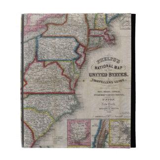 El mapa de Phelps 1848 de los Estados Unidos