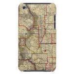 El mapa de Thayer de Colorado 2 iPod Case-Mate Coberturas