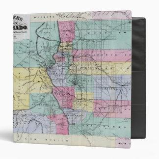 El mapa de Thayer de Colorado