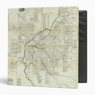 El mapa de Thayer de Denver Colorado