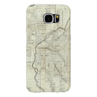 El mapa de Thayer de Denver Colorado Fundas Samsung Galaxy S6