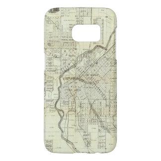 El mapa de Thayer de Denver Colorado Fundas Samsung Galaxy S7