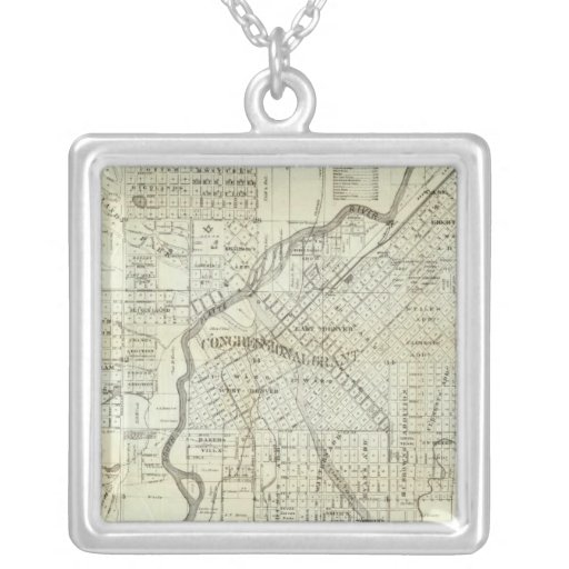 El mapa de Thayer de Denver Colorado Grimpola