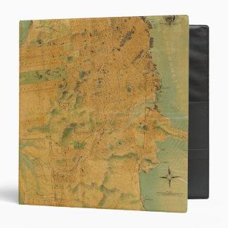 """El mapa del Chevalier de San Francisco Carpeta 1 1/2"""""""
