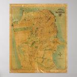 El mapa del Chevalier de San Francisco Impresiones