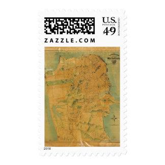 El mapa del Chevalier de San Francisco Sello