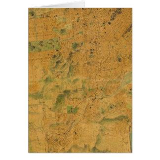 El mapa del Chevalier de San Francisco Felicitaciones