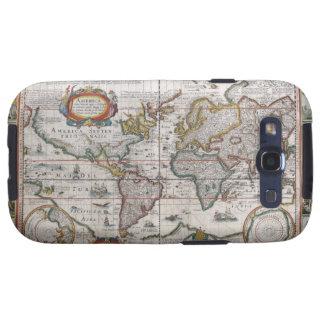 El mapa del mundo antiguo Samsung encajona Galaxy SIII Fundas