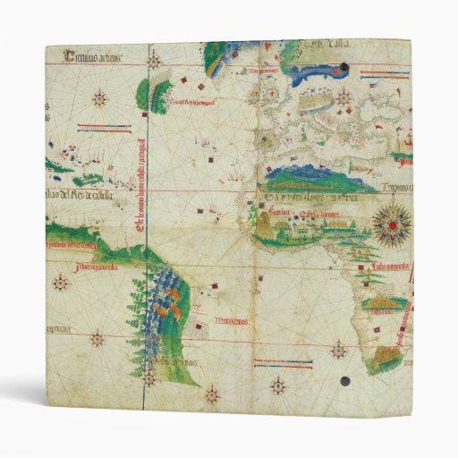 """El mapa del mundo del planisferio de Cantino (1502 Carpeta 1"""""""