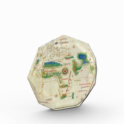 El mapa del mundo del planisferio de Cantino (1502