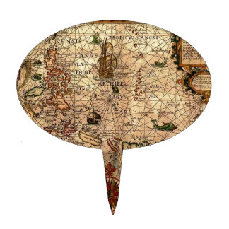 el mapa hictoric más importante de Asia sudorienta Palillos De Tarta