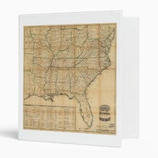 """El mapa histórico de la guerra civil (1862) carpeta 1"""""""