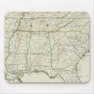 El mapa histórico de la guerra mouse pad