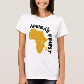 El mapa más fino de Ghana, África de África Playera