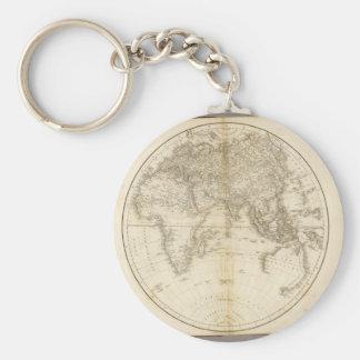 El mapa más viejo del mundo llavero redondo tipo pin