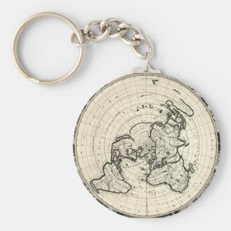El mapa más viejo llavero redondo tipo pin