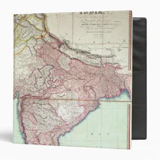 """El mapa mejorado de la India publicó en Londres Carpeta 1 1/2"""""""