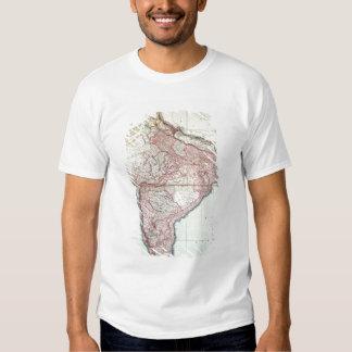 El mapa mejorado de la India publicó en Londres Remera