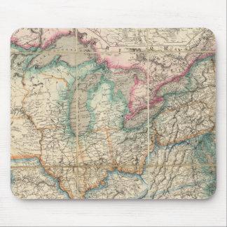 El mapa militar de Wyld de los Estados Unidos Tapete De Ratón