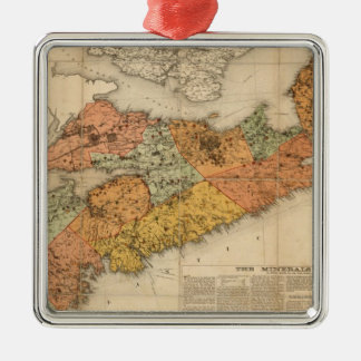 El mapa mineral de la iglesia de Nueva Escocia Ornamento De Reyes Magos