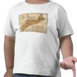 El mapa mineral de la iglesia de Nueva Escocia Camiseta