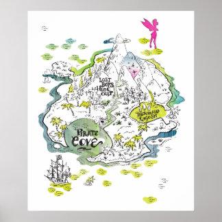 El mapa perdido del tesoro de los muchachos póster
