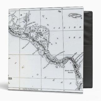 El mapa propuso las rutas ístmicas del canal
