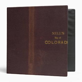 """El mapa topográfico de Nell de Colorado 2 Carpeta 1 1/2"""""""