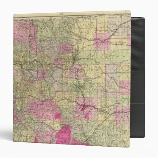 """El mapa topográfico de Nell de Colorado Carpeta 1 1/2"""""""