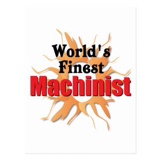 El maquinista más fino de los mundos postal