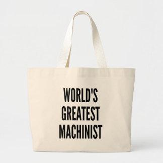 El maquinista más grande de los mundos bolsa tela grande