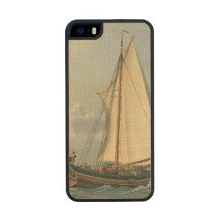 El mar, 1831 funda de arce carved® para iPhone 5 slim