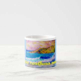 el mar agitado taza espresso