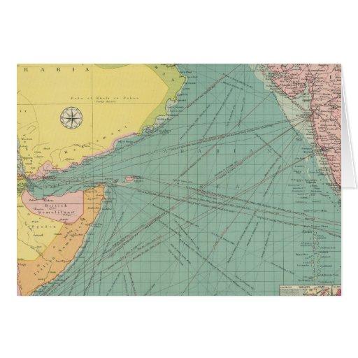El Mar Arábigo Tarjeta De Felicitación