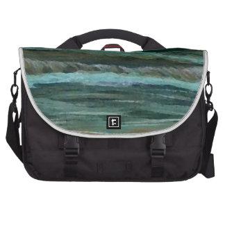 El mar clásico de los regalos de la decoración de  bolsas de ordenador