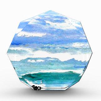 El mar de la serenidad del océano agita los regalo