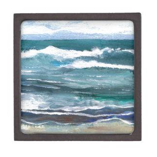 El mar del grillo - regalos de la playa de las ola caja de regalo de calidad