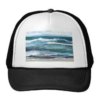 El mar del grillo - regalos de la playa de las ola gorros bordados