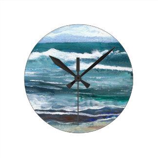 El mar del grillo - regalos de la playa de las ola reloj