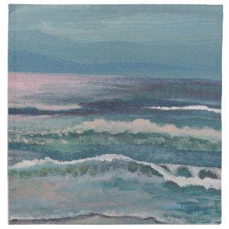 El mar del grillo - servilletas de cena del vajill