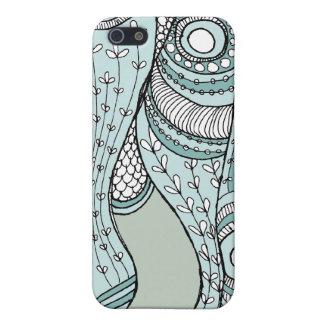 El mar escarda el trullo suave iPhone 5 cárcasas
