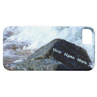 El mar lavó el personalizado II iPhone 5 Fundas