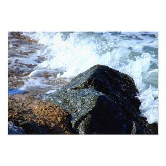El mar lavó II Cojinete