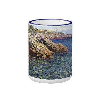 El mar Mediterráneo (d'Antibes) del casquillo, 188 Taza A Dos Colores