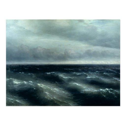 El Mar Negro, 1881 Tarjeta Postal