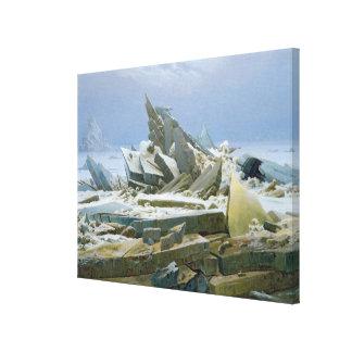 El mar polar, 1824 lona estirada galerias