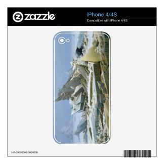 El mar polar, 1824 skin para el iPhone 4